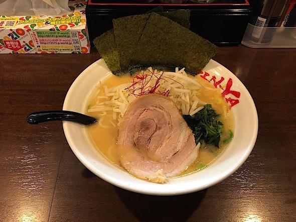 横浜家系ラーメン 吟家 誉田店/濃厚豚骨味噌ラーメン