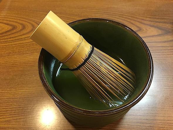 郷土料理たけのこ/お茶
