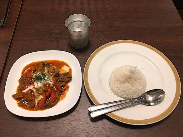 タイ・シティ/Thai City/パナン・カレー/Panaeng Curry
