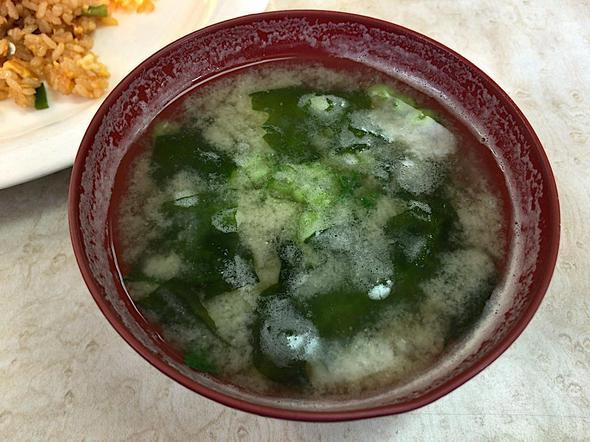 Coffee・Lunch たいら/TAIRA/ピラフ(サラダ・ドリンクセット)の味噌汁