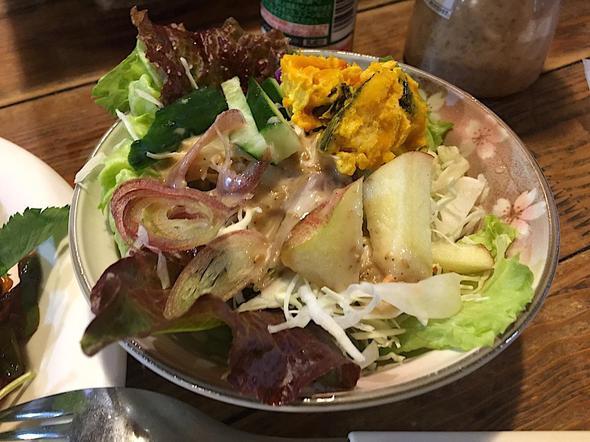むかし茶屋 山乃花/山の花のナポリタンのサラダ