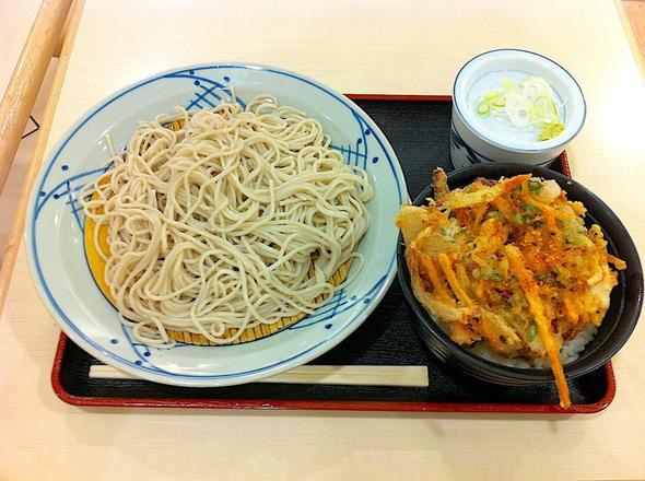 そば茶屋 小諸 イオン千葉ニュータウン店/ミニかき揚げ丼セット