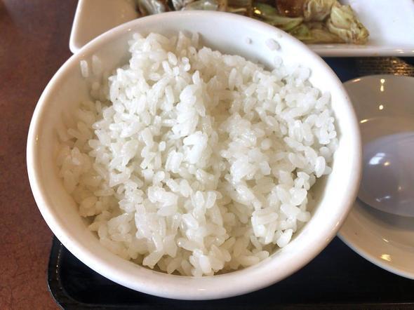 中華厨房 ゆうえん 二十世紀ヶ丘店/回鍋肉セットのライス