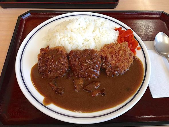 麺処 松福/ヒレカツカレー