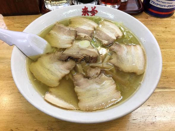 喜多方ラーメン 来夢 会津若松駅前店/塩チャーシュー麺