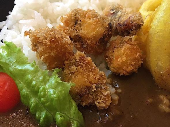 ちゃりこ/淡路島カレー/地ダコのフライ
