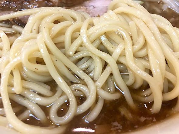 小川流 二本松店/半ちゃーしゅー麺