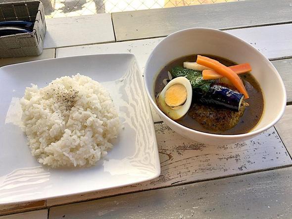 CAFE&DINING ハマカレ/ハンバーグスープカレ