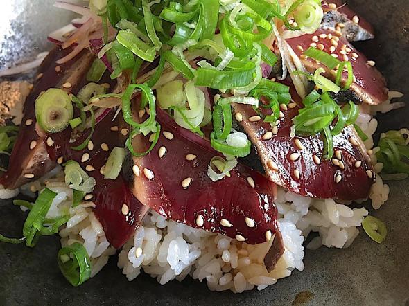 道の駅 あぐり 窪川 レストラン風人/鰹のたたき丼