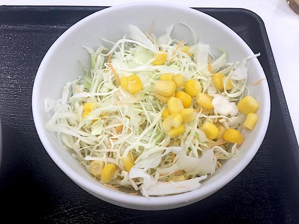 吉野家 53号線国体町店/生野菜サラダ(和風ドレッシング)