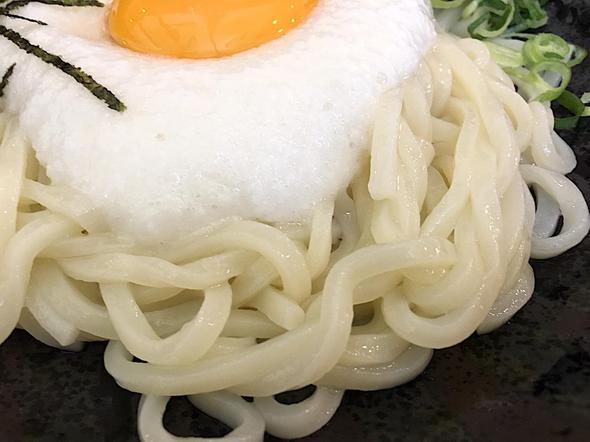 得得 小松島店/細麺山かけうどん