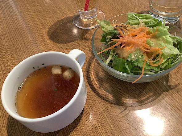 サラダとスープ/CAFE;HAUS