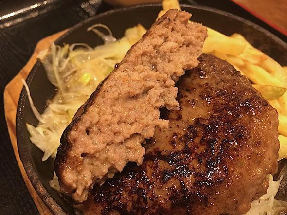 てけてけ 豊洲IHIビル店/特製あらびきハンバーグ定食