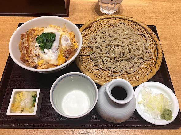 吉祥庵 ららぽーと豊洲店/カツ丼とそば