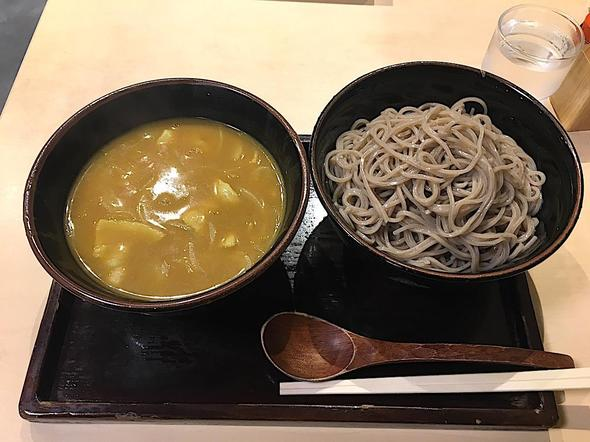 そば処 阿さま/つけカレーそば + ご飯