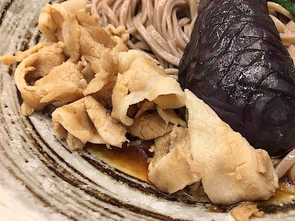 串天・鴨だしおでん そばえもん 青山一丁目店/夏野菜と豚肉のおろし蕎麦