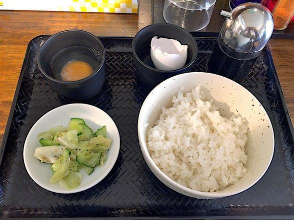 麺処 梅吉/Aセット(卵かけご飯)