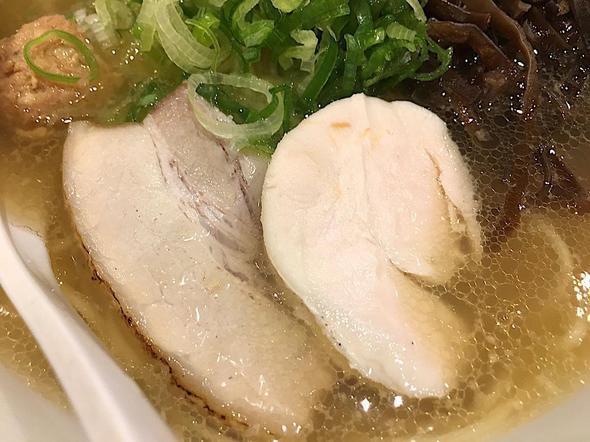 濃厚鶏白湯 麺屋 こいけ/あご出汁鶏そば チャーシュー&鶏チャーシュー