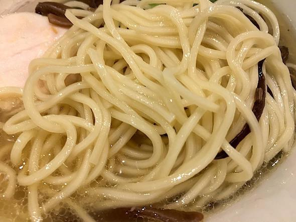 濃厚鶏白湯 麺屋 こいけ/あご出汁鶏そば 細麺