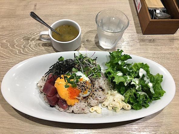 ハワイアン・フード アロハ・キッチン/ALOHA Kitchen 青山店/スパイシー・アヒポケ・プレート