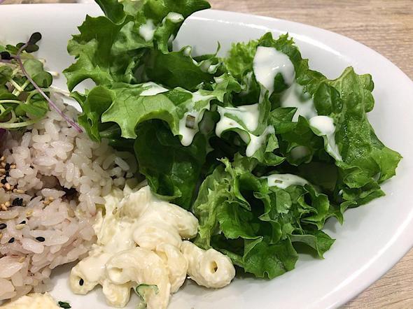 ハワイアン・フード アロハ・キッチン/ALOHA Kitchen 青山店/スパイシー・アヒポケ・プレートのサラダ
