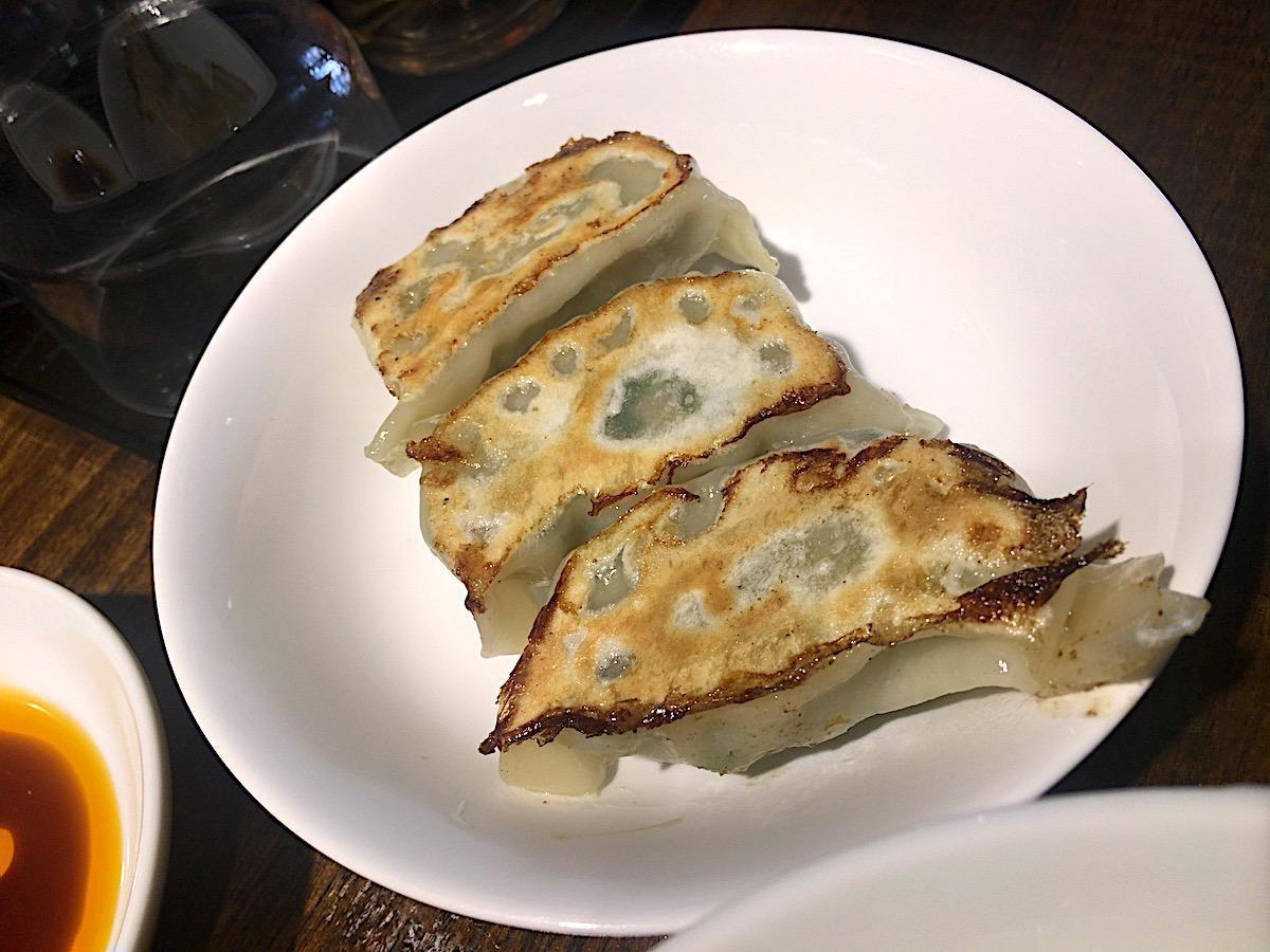 麺処 梅吉/半餃子(3ケ)