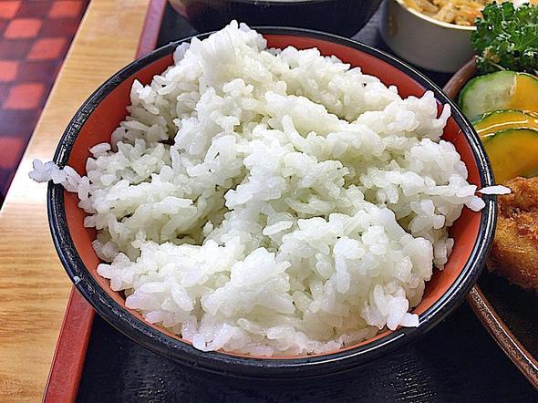 とんかつ よしの 新川/エビ・ヒレ定食 ご飯