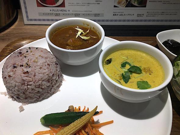スリランカ料理/鍋 香辛/香辛スリランカダブルカレー ポークカレーとかぼちゃカレー