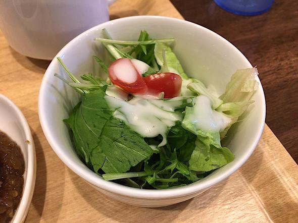 ステーキキッチンファクトリー/STEAK KITCHEN FACTORY 日本橋茅場町店/ステーキ丼のサラダ