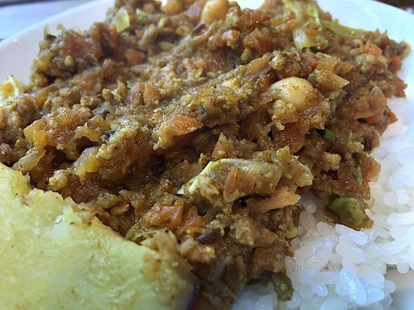 オーガニック食品&カレー アルチーナ/organic foods & curry arcina/オーガニック野菜と「保美豚」のドライカレー