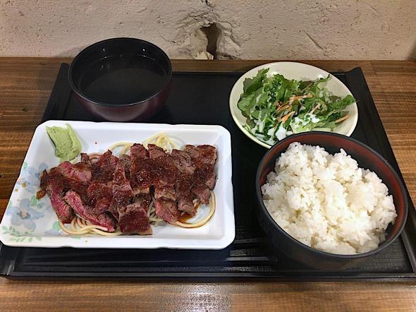 山海楽酒 およよ 西新宿店/ビフテキランチ