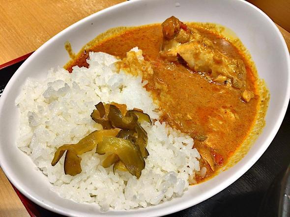 自家製麺とインドカレーの店 よもだそば 日本橋 本店/よもだカレー