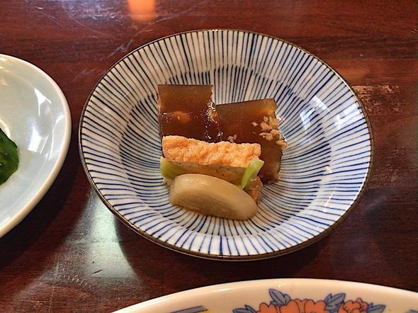 食彩 高らん亭/肉野菜炒め定食の小鉢