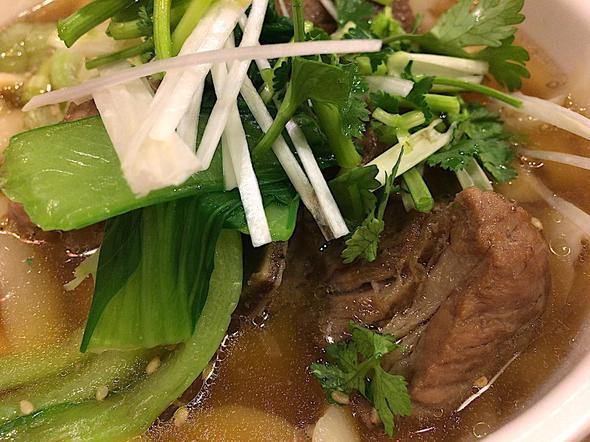 刀削麺の王様 茅場町店/豚スペアリブの刀削麺