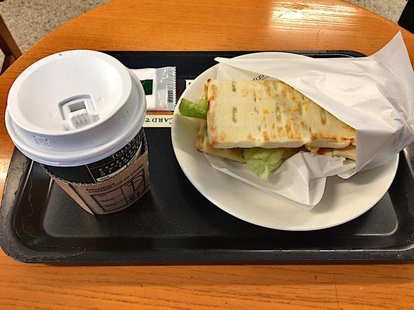 タリーズコーヒー/TULLY'S COFFEE 泉岳寺店/ケバブ風スパイシーチキン