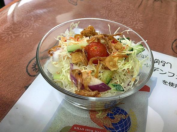 オリエンタルデリ 白金店/グリーンカレーのサラダ