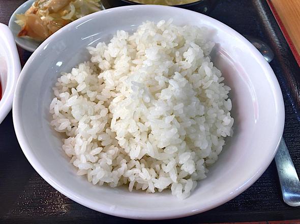 北京食堂/麻婆豆腐定食のご飯
