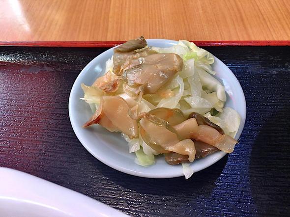 北京食堂/麻婆豆腐定食の箸休め