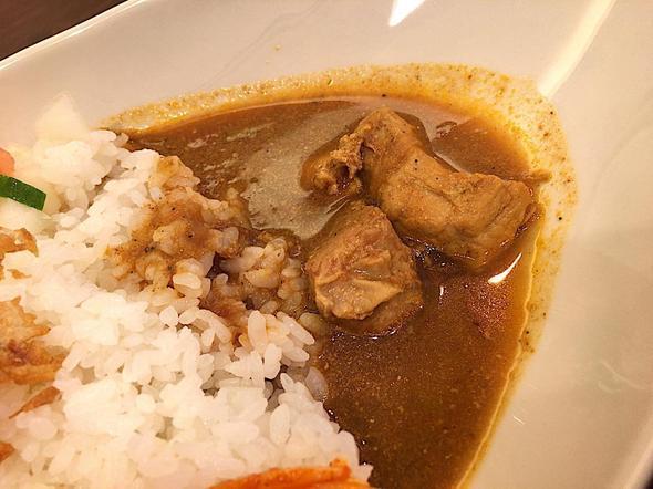 カリアゲ/Curry.age/あいがけカレーの和風ポークカレー