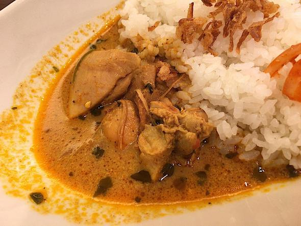 カリアゲ/Curry.age/あいがけカレーのバターチキンカレー
