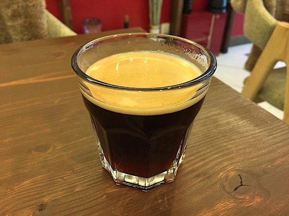 カリアゲ/Curry.age/セットのミニドリンクはホットコーヒー