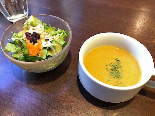 ビストロ ローブン/ROVEN 八丁堀/サラダとスープ