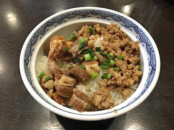 西安麺荘 秦唐記/ミニ牛肉そぼろ丼