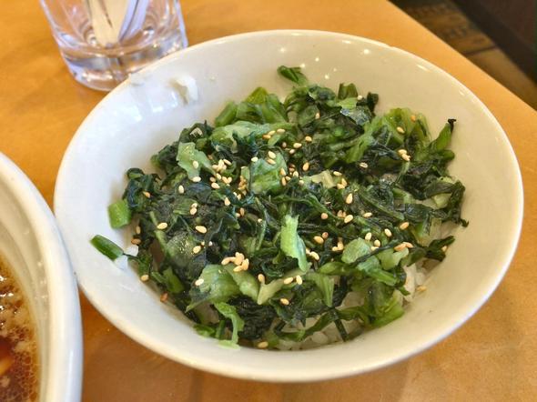 尾道らーめん めでたい屋/青しそ広島菜ご飯