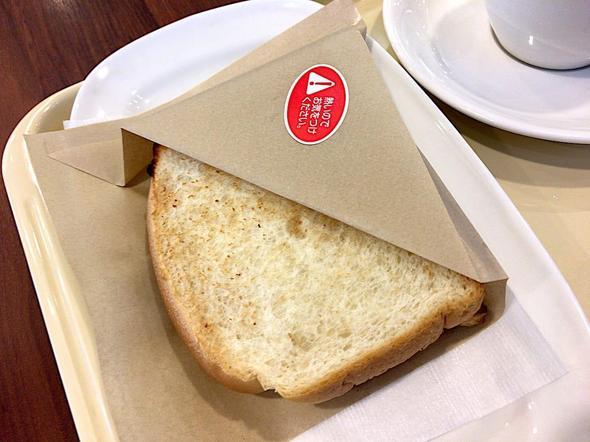 ドトールコーヒーショップ/DOUTOR COFFEE 築地聖路加通り店/モーニング・セットB 3種のチーズとベーコン・エッグ