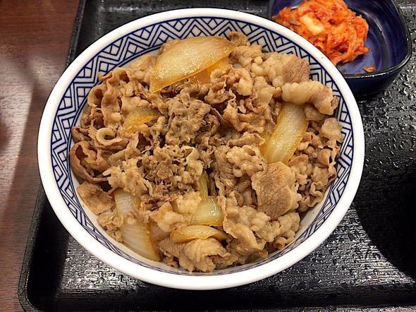 吉野家 新富町店/牛丼(並)