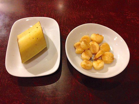 カフェ アルル/ARLES PART2/デザート バナナ ジャイアントコーン