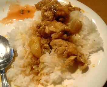 ビルマ レストラン ルビー/カレー