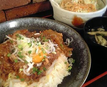 やきとん 座豚/ZA BUTA/バラナンコツ丼