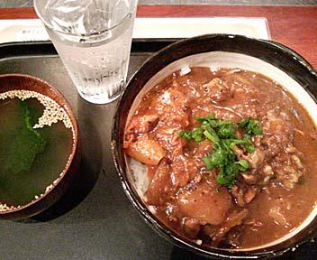 炭焼きジンギスカン専門店 カムイ 高田馬場店/ジンギスカレー丼